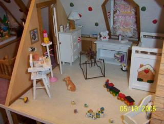 The baby room in attic