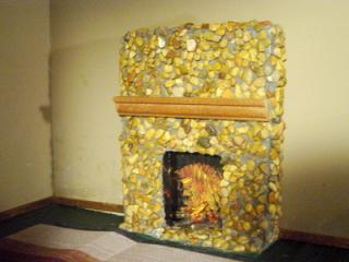 fire place I made