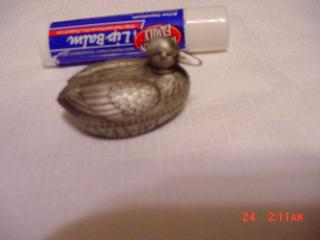 Pewter Duck