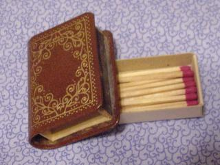 Leather-Bound Matchbook II