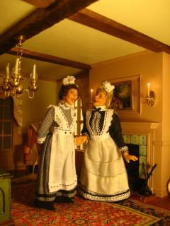 Upstairs Maids in the Georgian House
