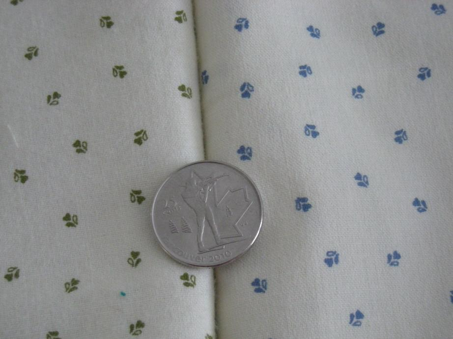 close-up of cotton prints