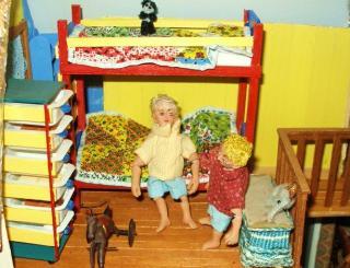 KathieB's photos:  the boys' bedroom