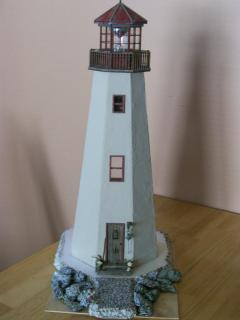 The lighthouse so far <front view>