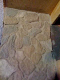Drink holder stone porch