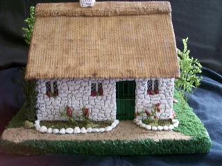 my 1:48 scale White O'Morn cottage