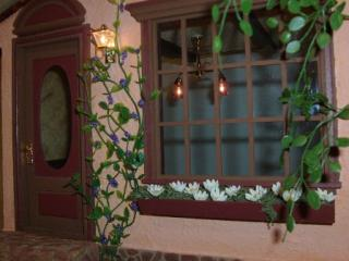 Front window . . . see the pretty lights within?