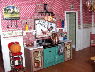 DuraCraft Farmhouse - Kitchen Stove