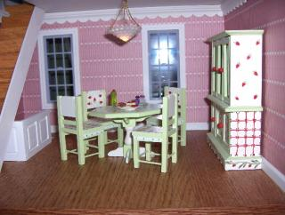 Apple Blossom dining room
