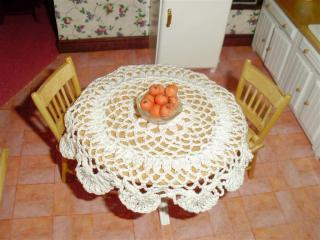 Oranges & Table Cloth for the Country House.JPG