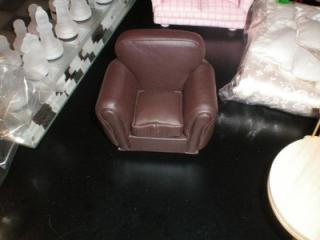 Yard Sale (Brown Leather Sofa).JPG