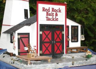 close up of the bait and tackle exterior