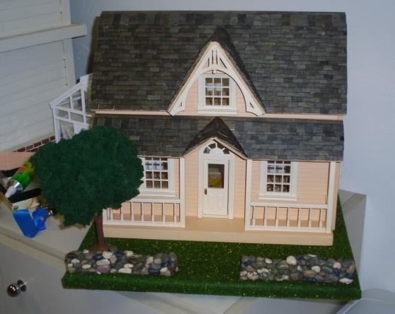 Puzzle house (half scale) - landscaping ideas