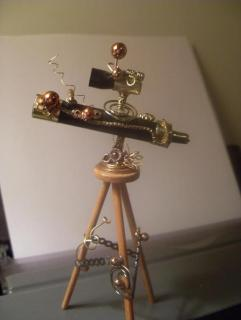 steampunk telescope