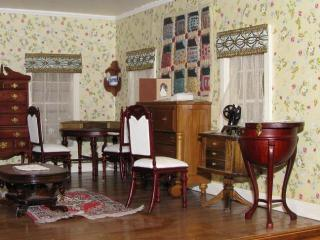 upstairs sewing room