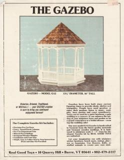 The Gazebo Kit by Real Good Toys Instructions