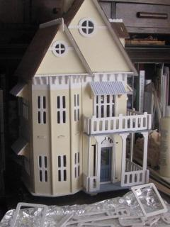 puzzle house from Micheal's