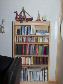 Books and bookcase