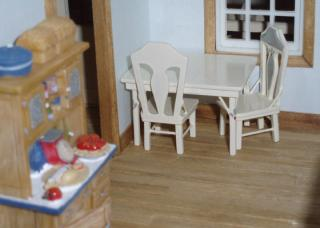 Robert Street table in the puzzle house