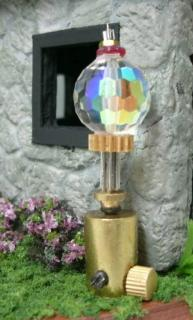 Quarter Scale Steampunk Fairy House Carriage Lamp