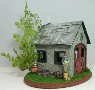 Steampunk Quarter Scale Fairy House