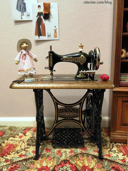 Bodo Hennig sewing machine in the sewing room