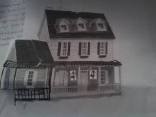 Colonial mock Up dormers