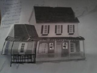 Colonial mock Up without dormers