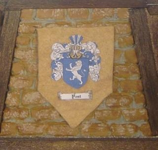 "The ""Post"" Famiy Crest"