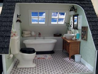 Bathroom - dollhouse view
