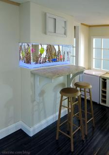 Renovated breakfast bar