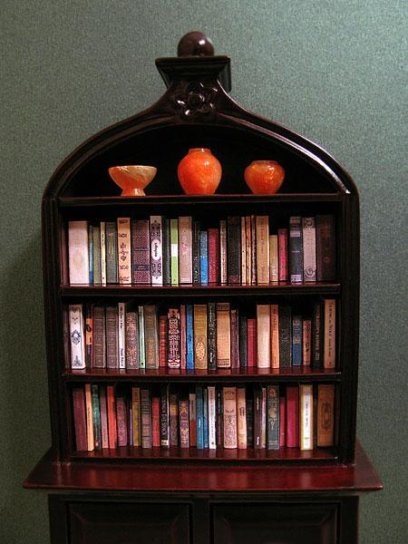Filled bookcase