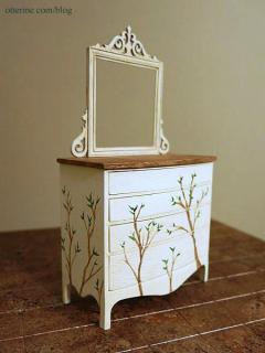 Dresser - leaves added