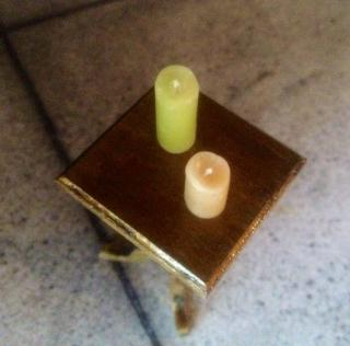 Mini Waxed Candles 2