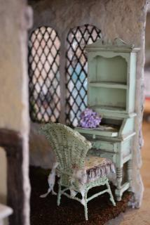 Handmade wicker chair