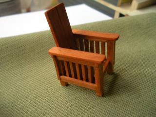 Half Scale Hand Made Arts and Crafts Chair