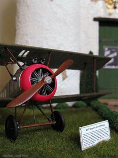 1917 Sopwith Camel Replica - sign