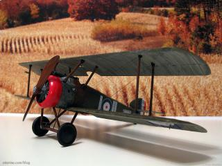 1917 Sopwith Camel Replica - backdrop
