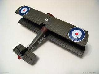 1917 Sopwith Camel Replica - aerial view