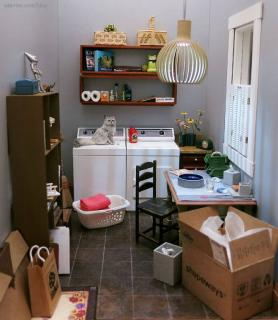 Laundry room - craft room