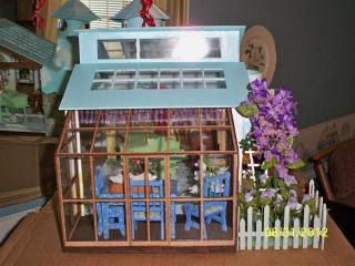 100 1701 (Small) Built in greenhouse room.