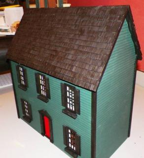 Colonial with Painted Shingles