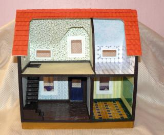 Ella's dollhouse back view