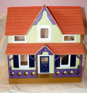 Ella's dollhouse front view