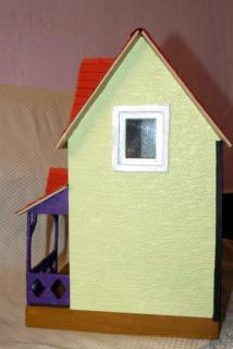 Ella's dollhouse side view