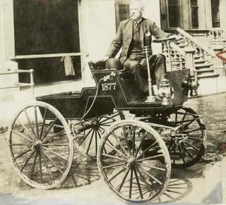 Selden Horseless Carriage - 1877