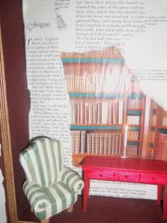 reading nook inside a book