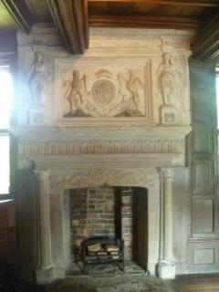 Little Morton Hall Fireplace