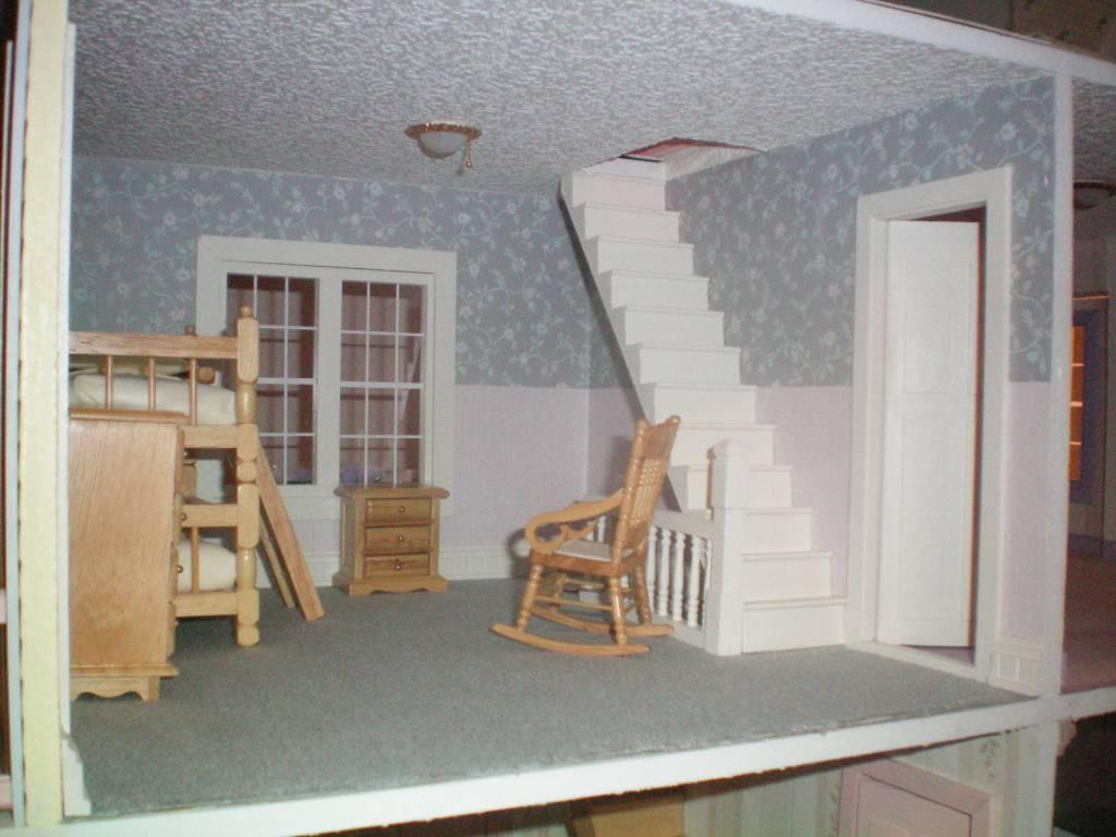 Bunkbeds and Rocking Chair