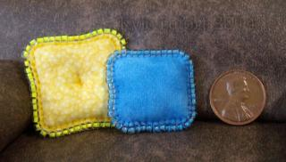 miniature Sun And Sky beaded pillow Set